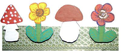 Готовые декоративные прищепки для крепления картонных декораций на ширме кукольного театра