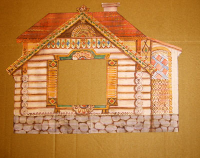 Кошкин дом театр своими руками