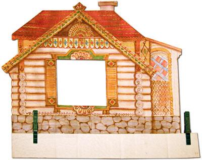 Мастер-класс: Богатый дом – закрепление прищепками. Художник: Елена Давыдова