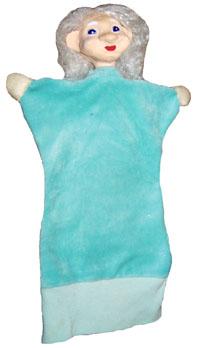 Кукла-перчатка Бабка с ладошками