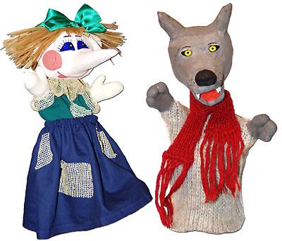 Кукла из перчатки своими руками