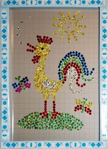 Магнитная мозаика своими руками. Мастер-класс Олеси Емельяновой