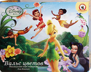 Феи: Вальс цветов. Настольная игра для девочек от 5 до 10 лет. Настольные игры Олеси Емельяновой.