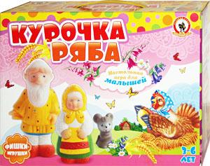 Курочка Ряба. Настольная игра для детей от 3 до 6 лет. Настольные игры Олеси Емельяновой.