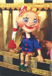 Золотой ключик или приключения Буратино. Кукла из спектакля
