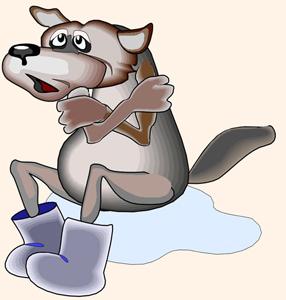 Олеся Емельянова. Волк и заяц. Басня про ненасытную жадность и глупую доброту. Современные басни в стихах.