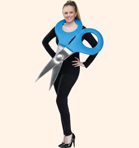 Ножницы. Стихи-визитки Олеси Емельяновой для защиты карнавальных костюмов.
