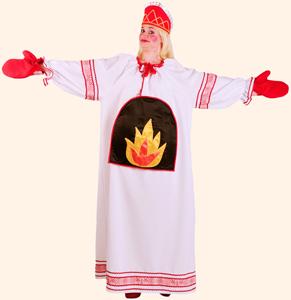 Печка. Стихи-визитки Олеси Емельяновой для защиты карнавальных костюмов.
