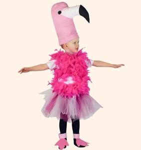Фламинго. Стихи-визитки Олеси Емельяновой для защиты карнавальных костюмов.