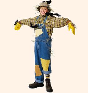 Пугало. Стихи-визитки Олеси Емельяновой для защиты карнавальных костюмов.