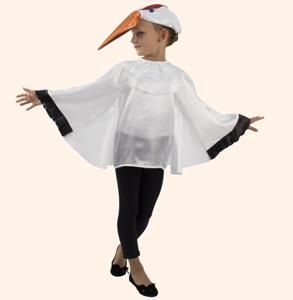 Цапля. Стихи-визитки Олеси Емельяновой для защиты карнавальных костюмов.