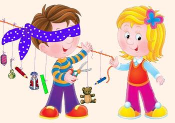 Конкурс для детского праздника: Веревочка с призами