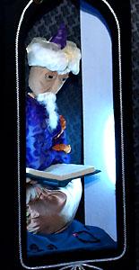 Рассказчик. Спектакль театра кукол г. Находка «Волшебная лампа Аладдина»