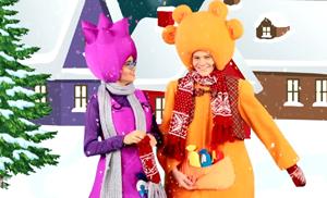 Чапики. Новогодний снегопад. Мультик на стихи Олеси Емельяновой