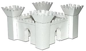 Как сделать объемные замки из бумаги