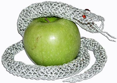 Змея - плетение из фольги - своими руками. Символ 2013 года. Мастер-класс Олеси Емельяновой