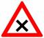 Стихи о дорожных знаках. Дорожный знак. Пересечение равнозначных дорог.