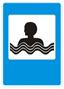 Стихи о дорожных знаках. Дорожный знак. Бассейн или пляж.