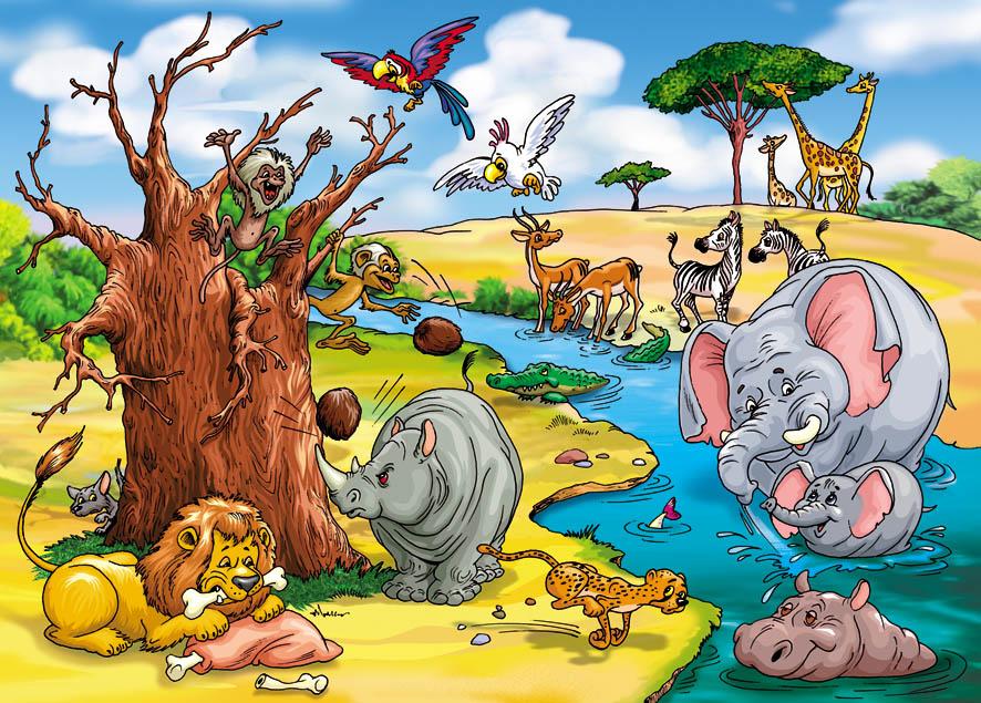 африка детские картинки