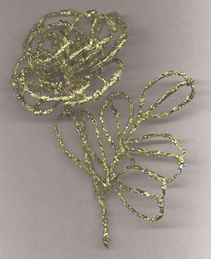 Поделки из золотой фольги