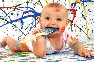 Осторожно! Самодельные игрушки! Ребенок наелся краски