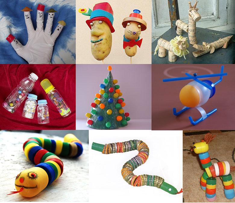 Сделать игрушку для ребёнка своими руками